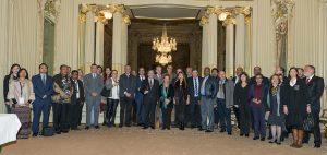 Grupo en la Sede de UNESCO